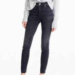 "J Crew 9"" High Rise Stretch Jeans 29 Toothpick"